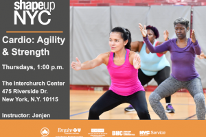 Shape Up NYC Cardio Classes at the Interchurch Center