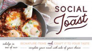 Social Toast at the Interchurch Center Riverside Cafe - June Menu